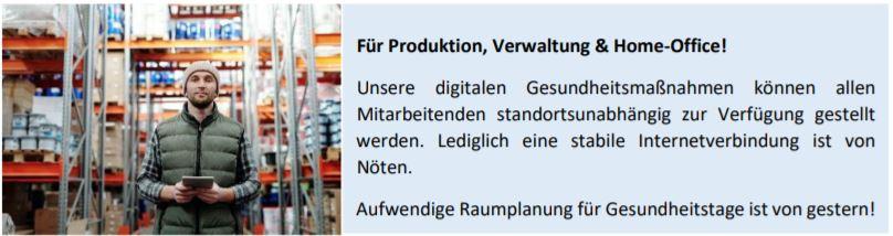 BGM  für Produktion & Homeoffice